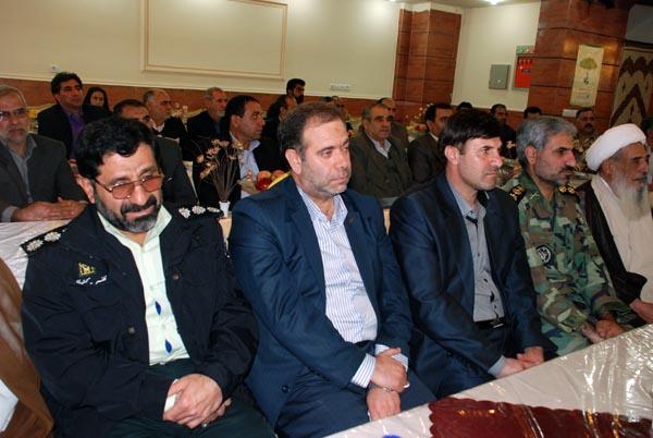 تصاویری از افتتاح بیمه کوثر لرستان با حضور سردار درویش وند (1)