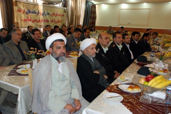 تصاویری از افتتاح بیمه کوثر لرستان با حضور سردار درویش وند (34)