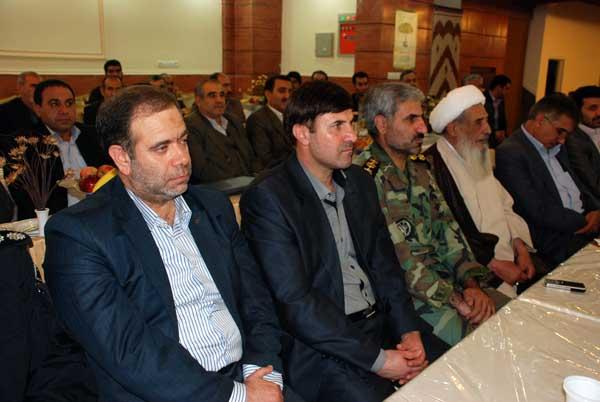 تصاویری از افتتاح بیمه کوثر لرستان با حضور سردار درویش وند