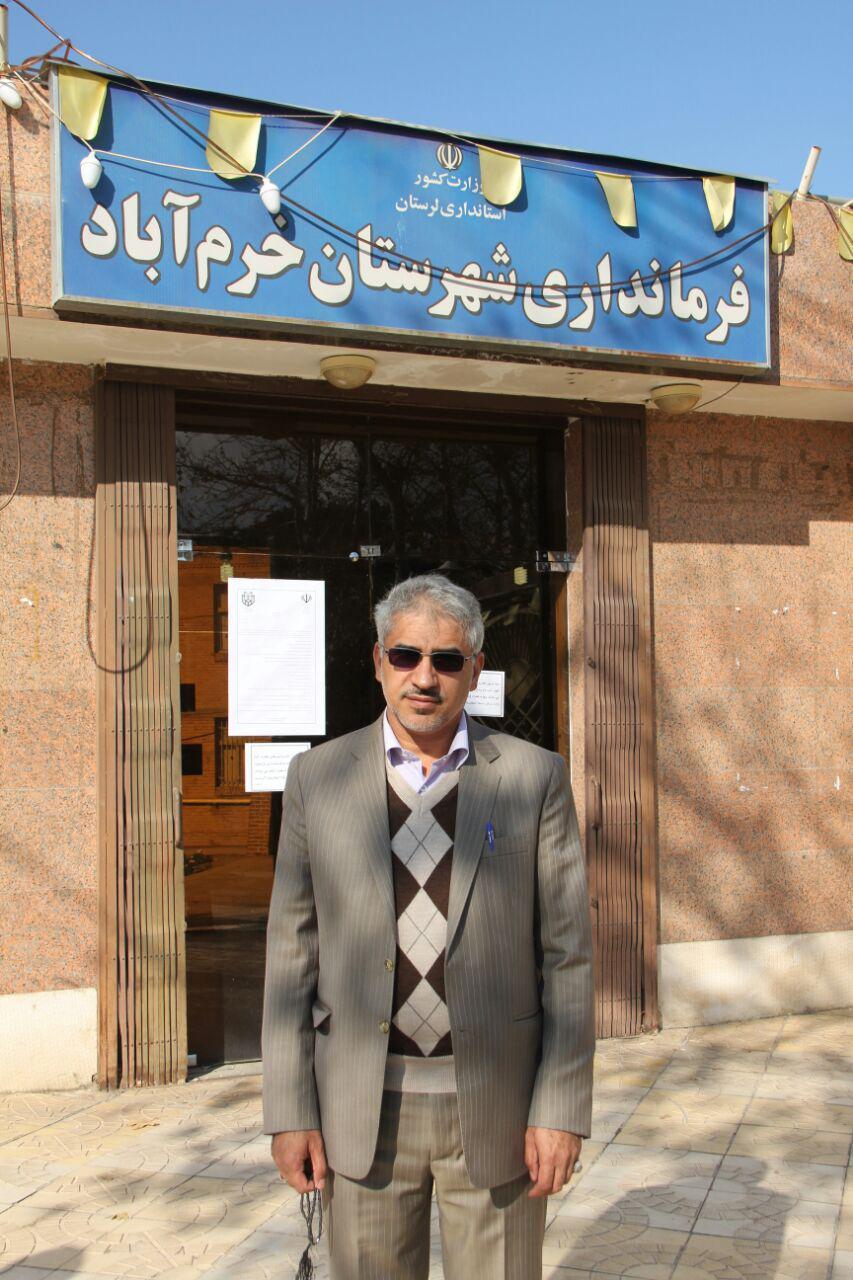 ثبت نام سردار درویش وند در انتخابات مجلس دهم (1)