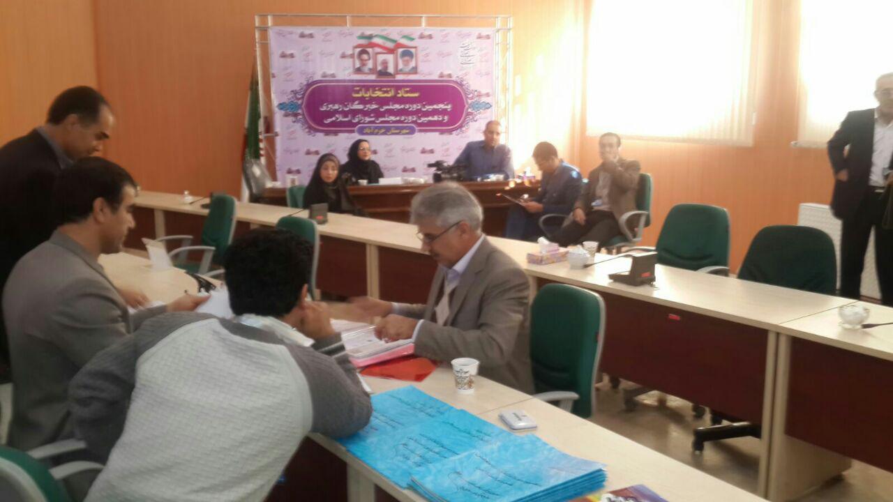 ثبت نام سردار درویش وند در انتخابات مجلس دهم (15)