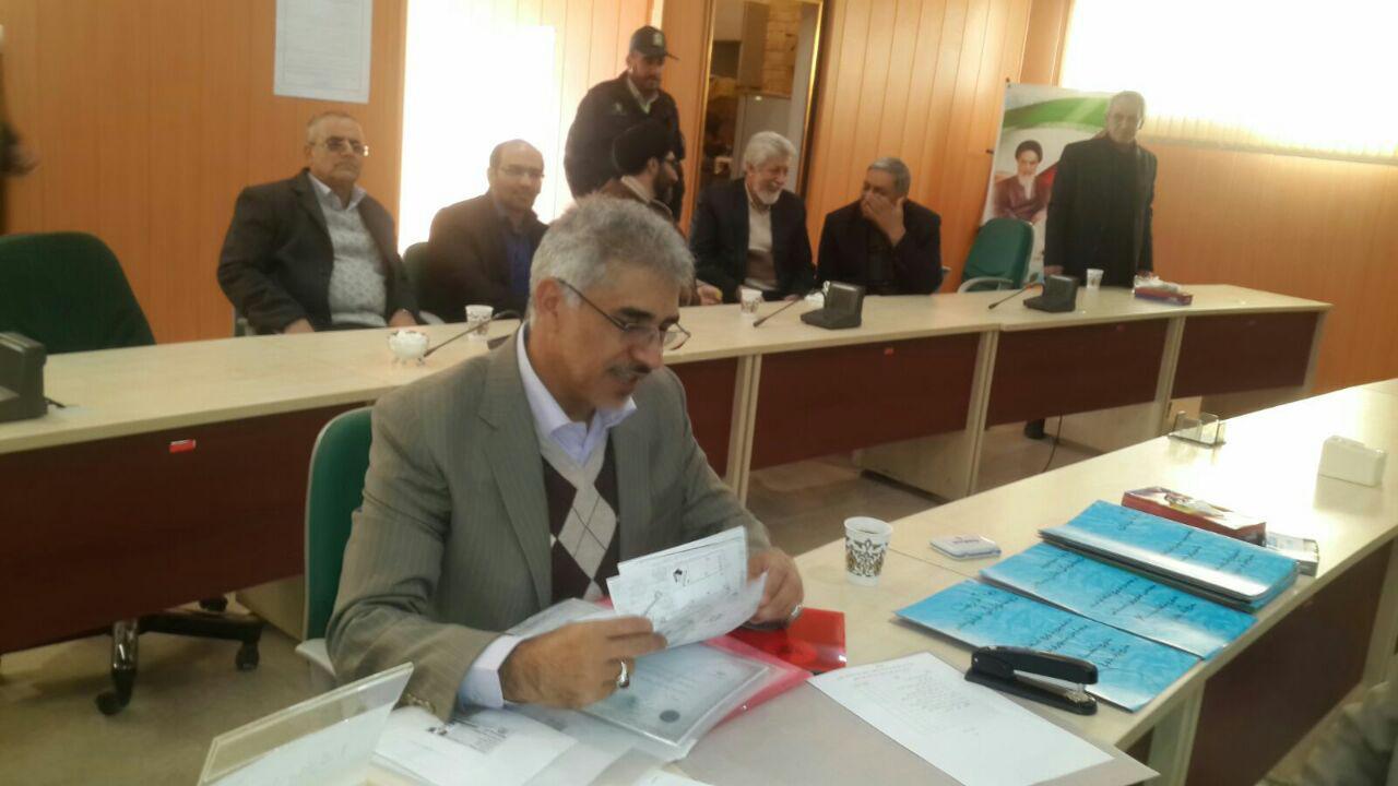 ثبت نام سردار درویش وند در انتخابات مجلس دهم (16)