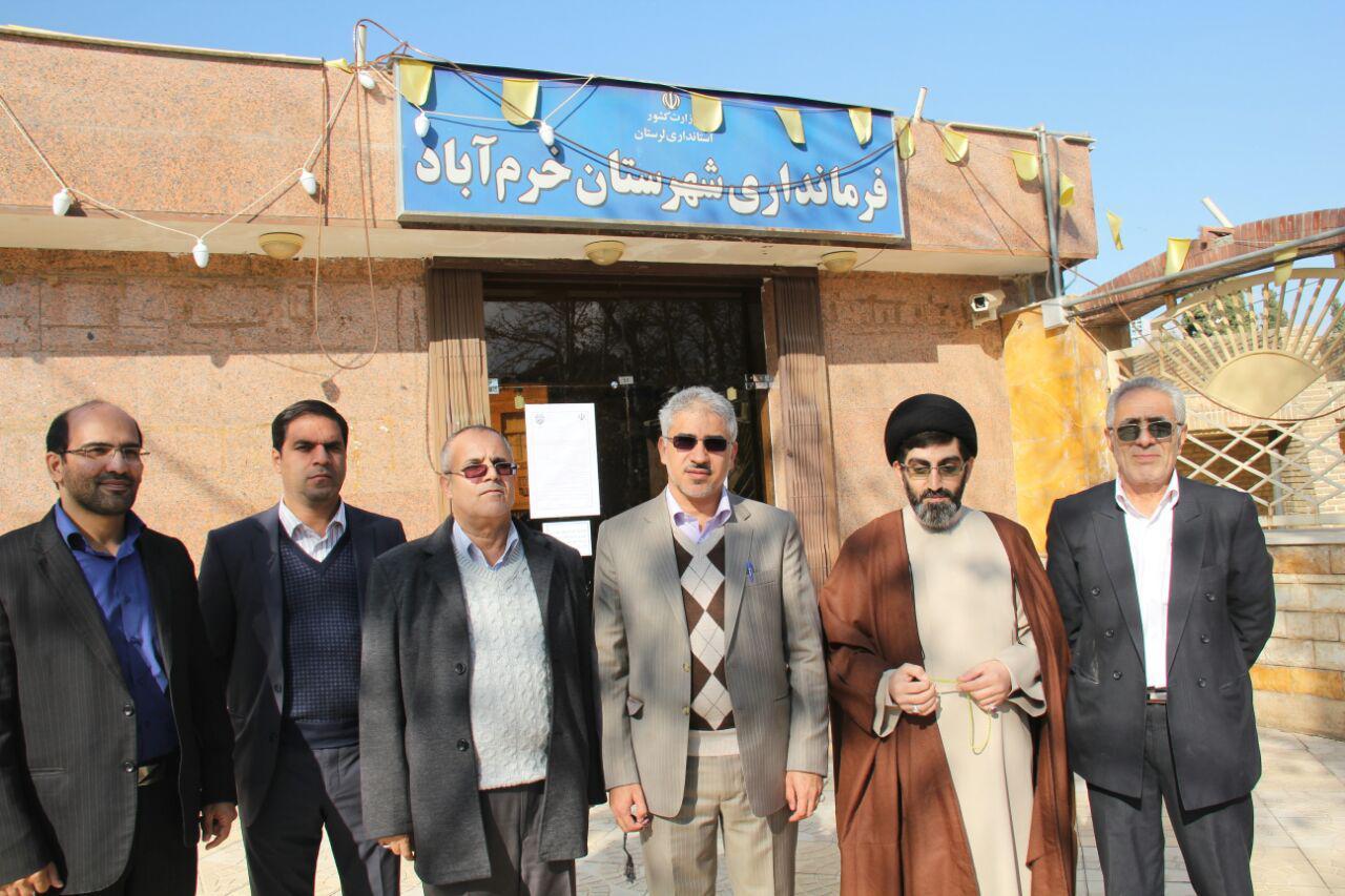 ثبت نام سردار درویش وند در انتخابات مجلس دهم (2)