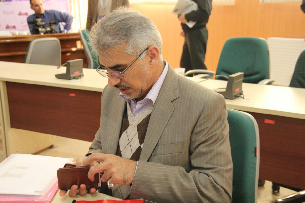 ثبت نام سردار درویش وند در انتخابات مجلس دهم (20)