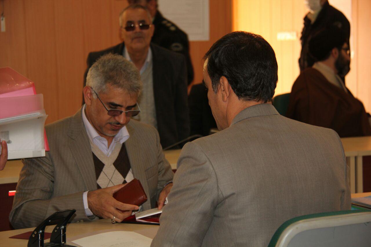ثبت نام سردار درویش وند در انتخابات مجلس دهم (23)