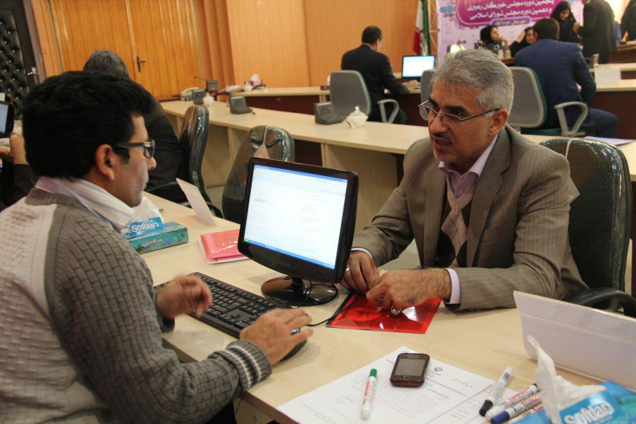 ثبت نام سردار درویش وند در انتخابات مجلس دهم (30)
