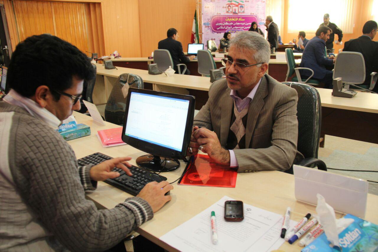 ثبت نام سردار درویش وند در انتخابات مجلس دهم (31)
