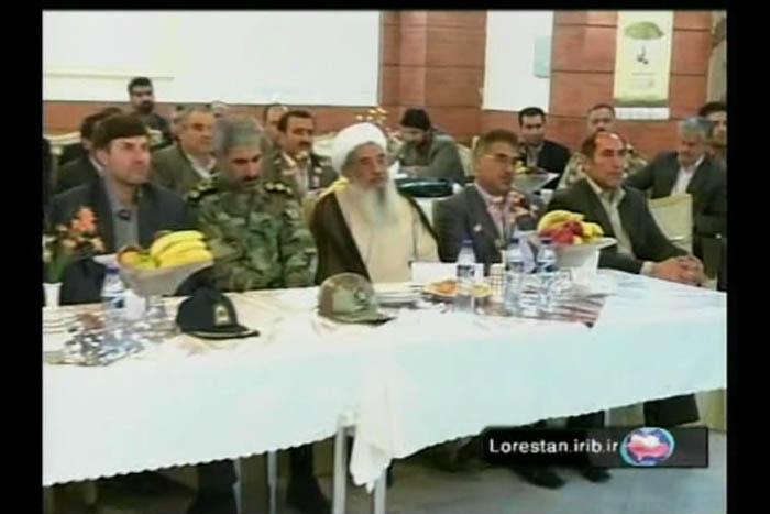 حضور سردار درویش وند در مراسم افتتاح نخستین نمایندگی بیمه کوثر (2)