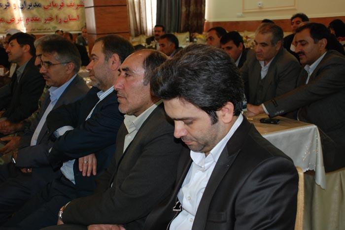حضور سردار درویش وند در مراسم افتتاح نخستین نمایندگی بیمه کوثر (4)