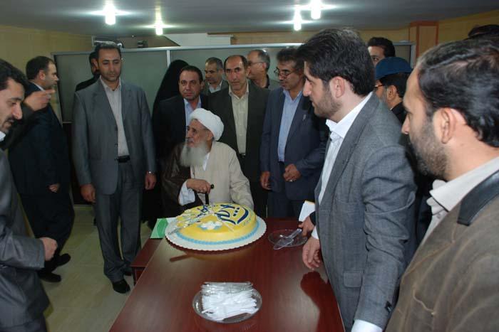 حضور سردار درویش وند در مراسم افتتاح نخستین نمایندگی بیمه کوثر (5)