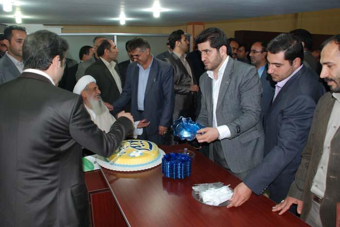حضور سردار درویش وند در مراسم افتتاح نخستین نمایندگی بیمه کوثر (6)