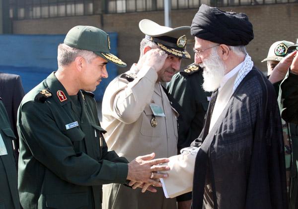 دیدار سردار جواد درویش وند با رهبر معظم انقلاب (1)
