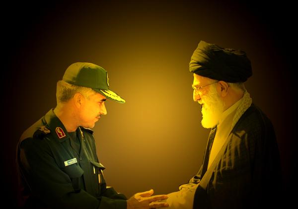 دیدار سردار جواد درویش وند با رهبر معظم انقلاب