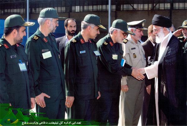 دیدار مسئولان عالی رتبه وزارت دفاع با رهبر معظم انقلاب