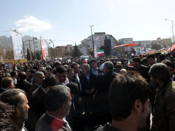 راهپیمایی 22 بهمن - سردار درویش وند (1)