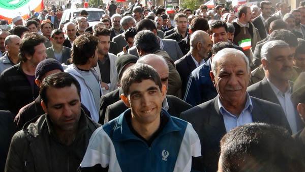 راهپیمایی 22 بهمن - سردار درویش وند (14)