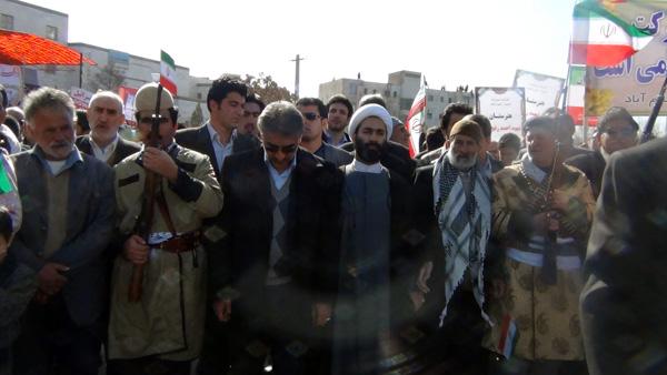 راهپیمایی 22 بهمن - سردار درویش وند (20)
