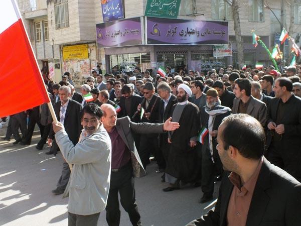 راهپیمایی 22 بهمن - سردار درویش وند (27)
