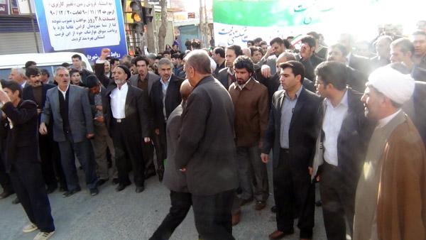 راهپیمایی 22 بهمن - سردار درویش وند (5)