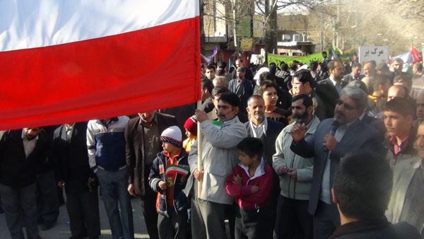 راهپیمایی 22 بهمن - سردار درویش وند (6)