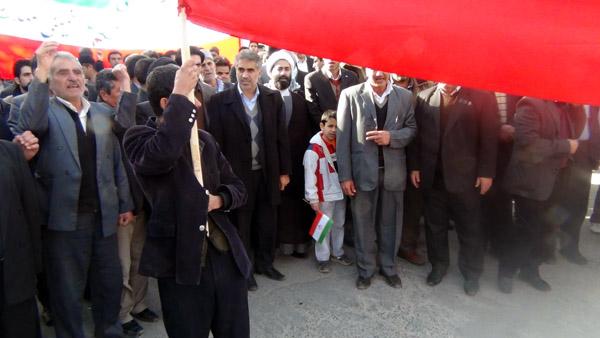 راهپیمایی 22 بهمن - سردار درویش وند (7)