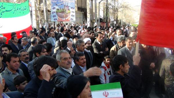 راهپیمایی 22 بهمن - سردار درویش وند (9)