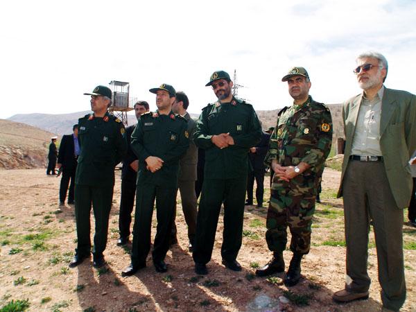عکس های سردار جواد درویش وند - بازدید هیئت دولت از لرستان- سال 1385 (14)
