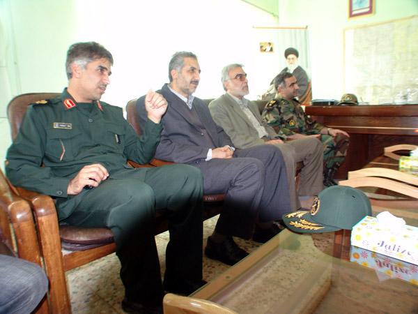 عکس های سردار جواد درویش وند - بازدید هیئت دولت از لرستان- سال 1385 (18)