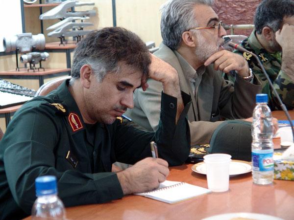 عکس های سردار جواد درویش وند - بازدید هیئت دولت از لرستان- سال 1385 (25)