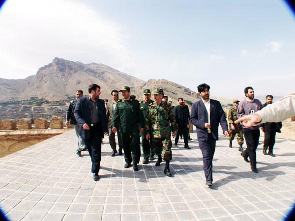 عکس های سردار جواد درویش وند - بازدید هیئت دولت از لرستان- سال 1385 (26)