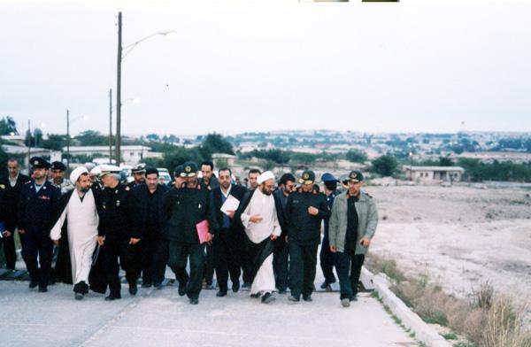 عکس های سردار جواد درویش وند - بازدید هیئت دولت از لرستان- سال 1385 (4)