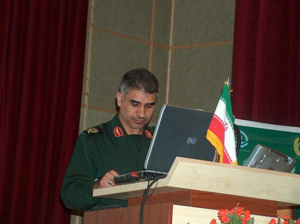 عکس های سردار جواد درویش وند -همایش مدیران بازرسی وزارت دفاع (8)
