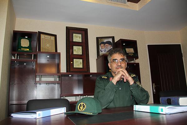 چند عکس از سردار جواد درویش وند در محل کار (3)