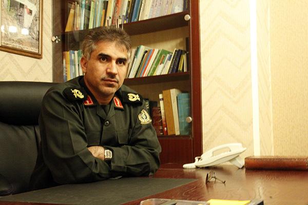 چند عکس از سردار جواد درویش وند در محل کار (5)