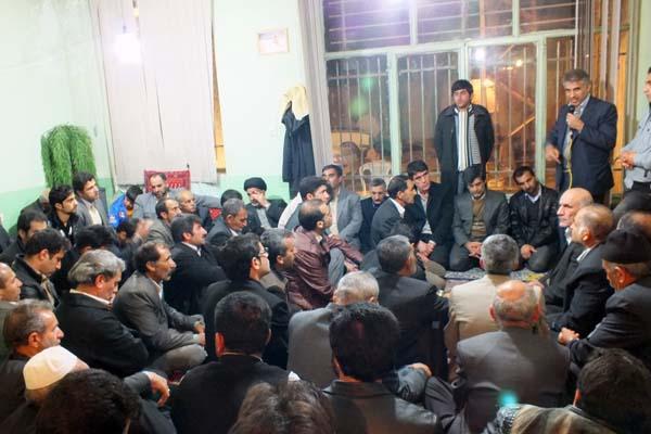 کاندیداتوری سردار درویش وند- جلسات مردمی