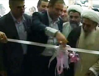 حضور سردار درویش وند در مراسم افتتاح نخستین نمایندگی بیمه کوثر
