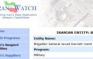 IRANIAN ENTITY: BRIGADIER-GENERAL JAVAD DARVISH-VAND