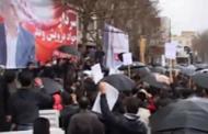 حماسه باران - شکوه هواداران سردار جواد درویش وند